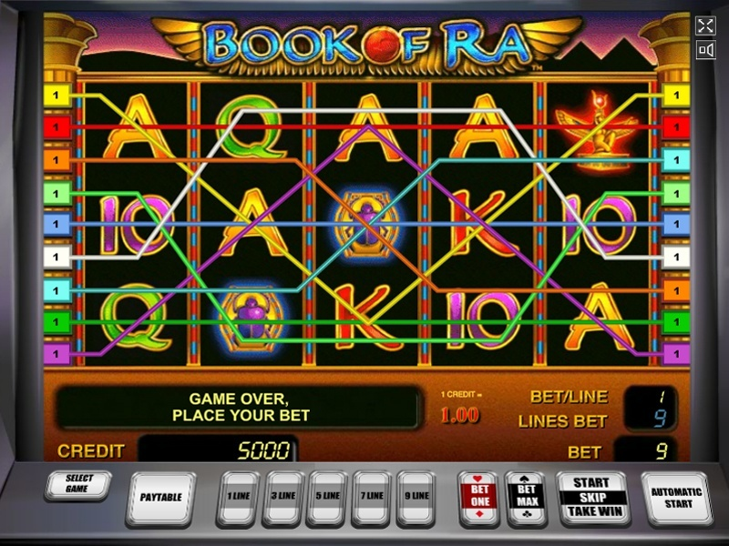slots to play online book of ra online gratis
