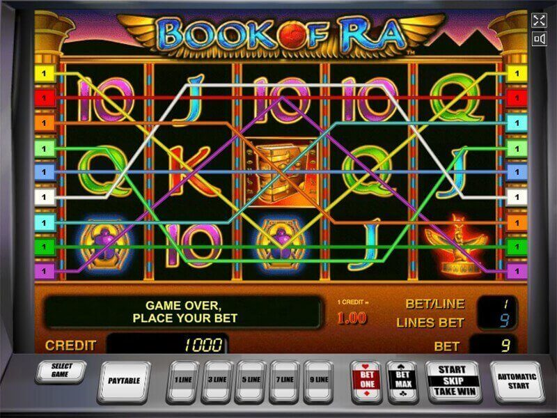 play online casino slots book of ra online free play