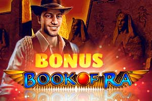 Bonuses by Playing Book of Ra